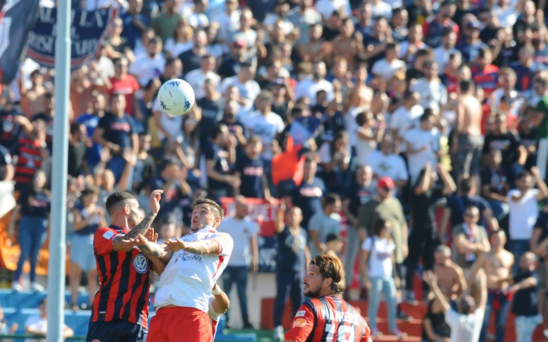 Cosenza-Perugia 1-1
