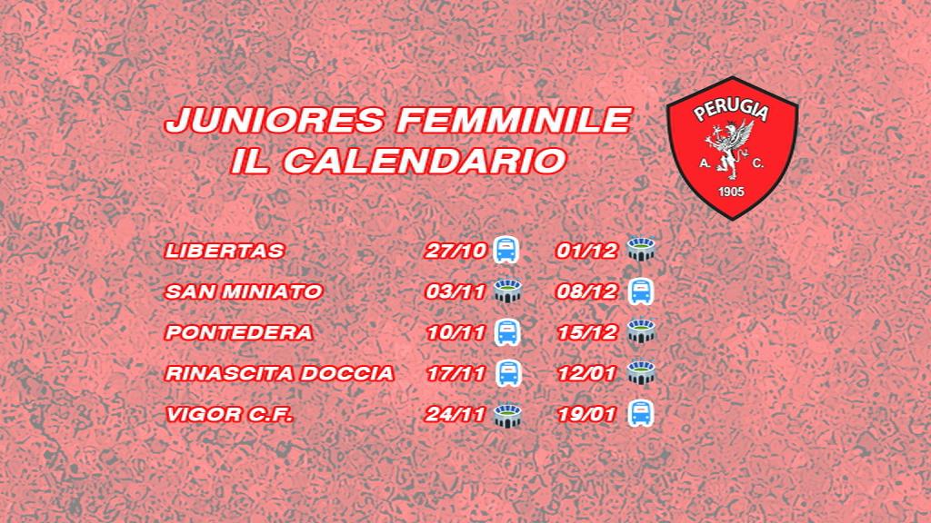 Femminile: inizia il campionato Juniores