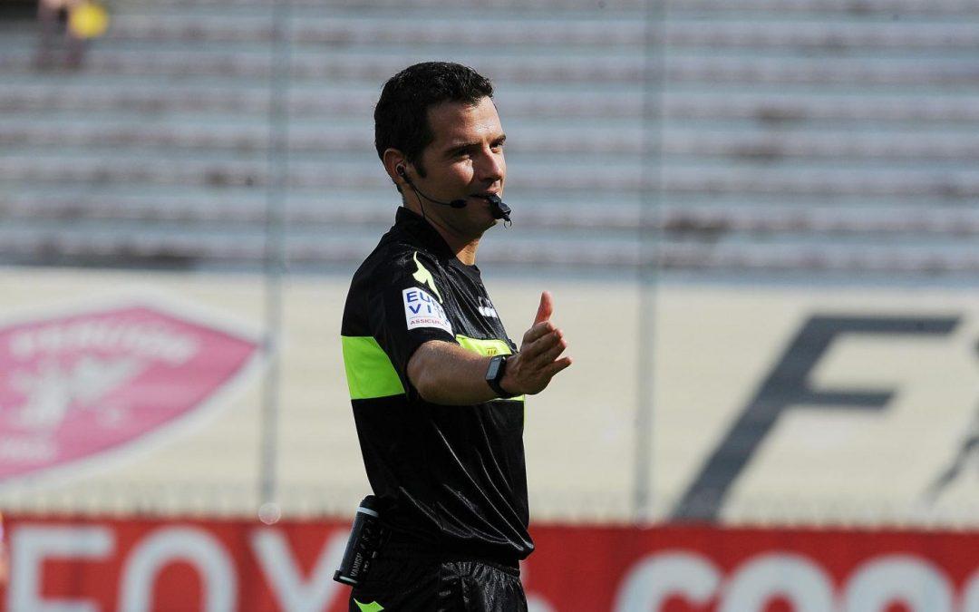 Perugia-Pescara arbitra Ghersini