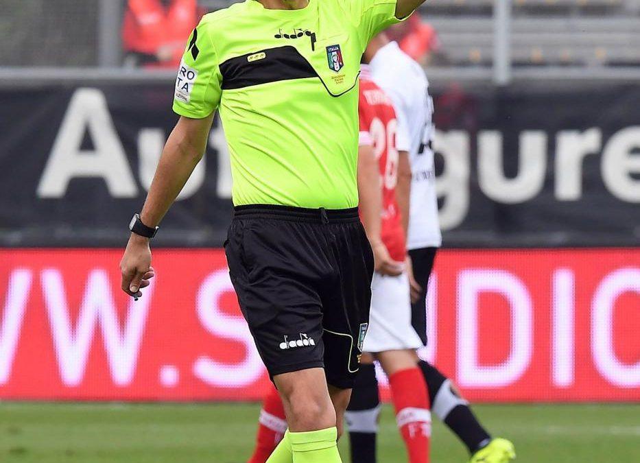Hellas Verona-Perugia, arbitra Pezzuto