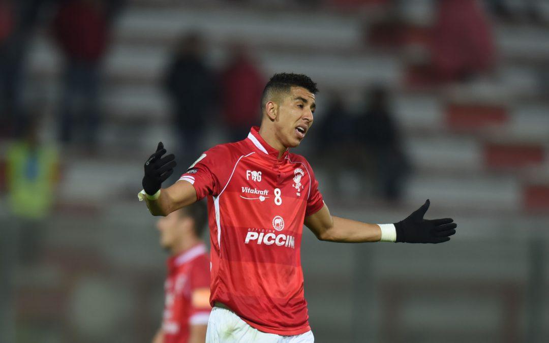 """Peruginità, El Yamiq: """"Nel gol contro il Padova ho sentito molta energia positiva"""""""