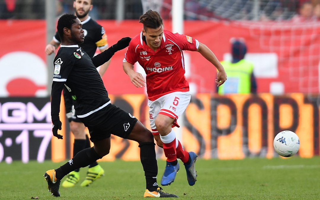 Perugia-Spezia termina 1-1