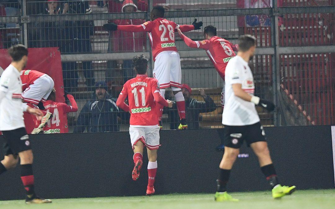 Perugia-Foggia termina 3-0