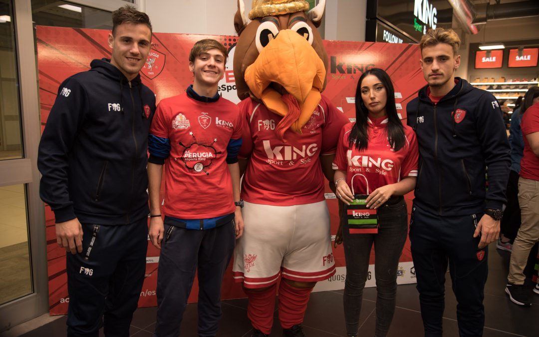 LA SECONDA TAPPA A.C. PERUGIA CALCIO ESPORTS KING TOUR