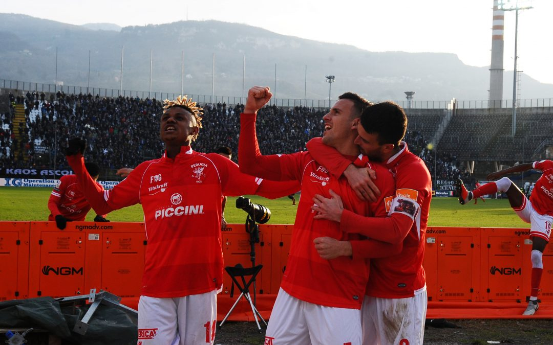 Ascoli-Perugia 0-3