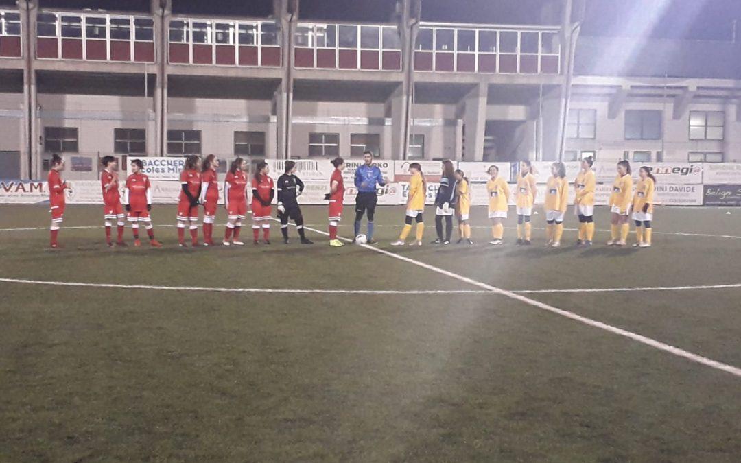 Under 15 Femminile: Vis Pesaro-Perugia 1-13