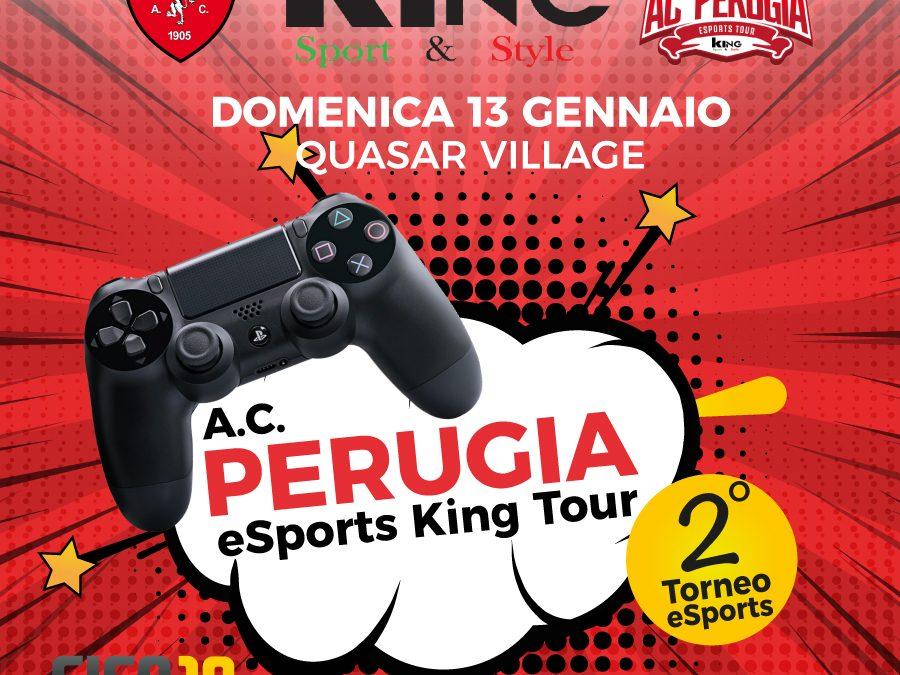 Domenica appuntamento con A.C. Perugia eSports King Tour