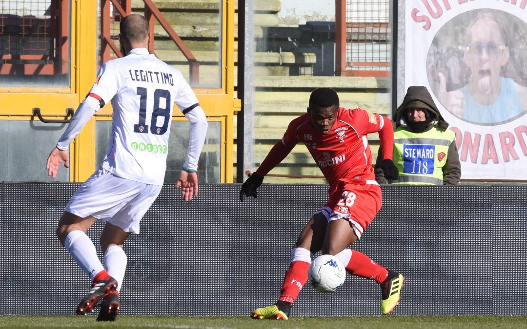 Perugia-Cosenza termina 0-1