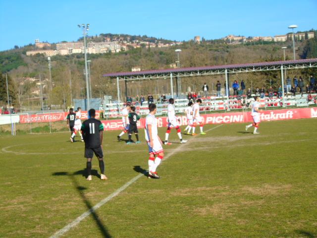 Perugia Primavera vince 4-1 nella partita d'allenamento