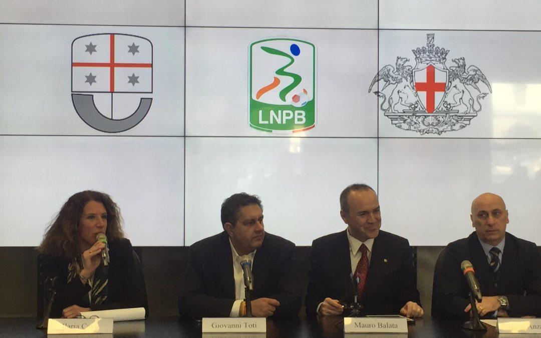 Lega B, consegnati 80.000 euro alla città di Genova