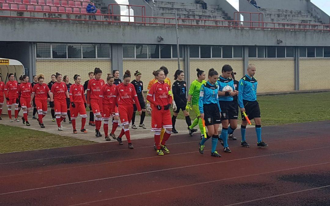 Femminile: Jesina-Perugia 0-4