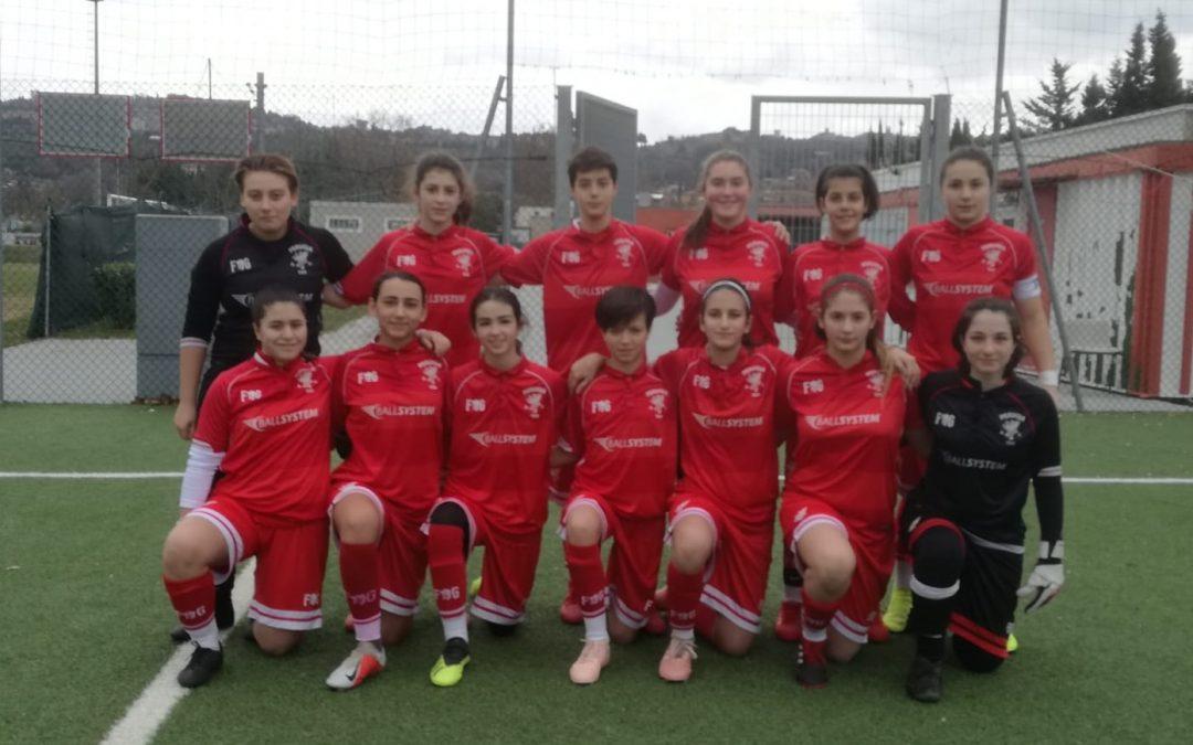 Under 15 Femminile: Perugia-Ascoli 5-0