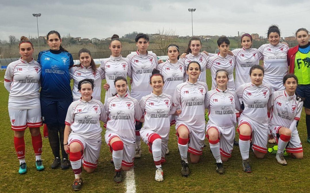 Under 17 Femminile: Frosinone-Perugia 0-8