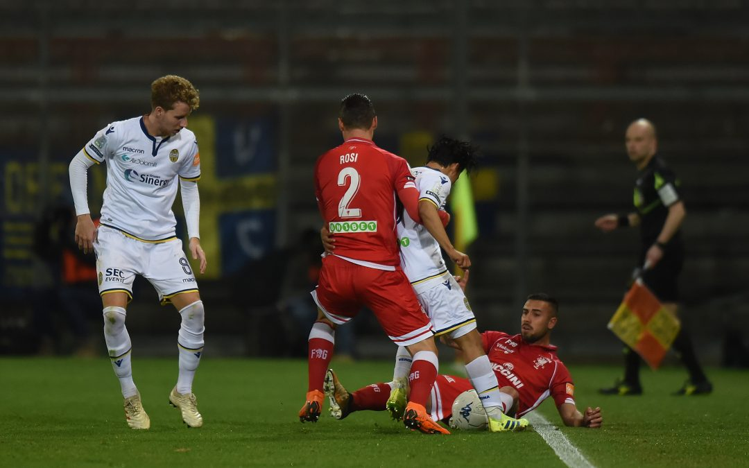 Perugia-Hellas Verona termina 1-2