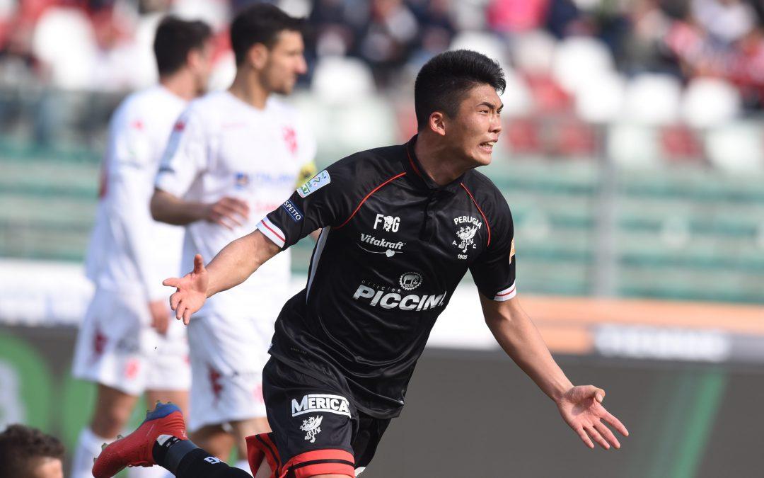 Padova-Perugia 0-1