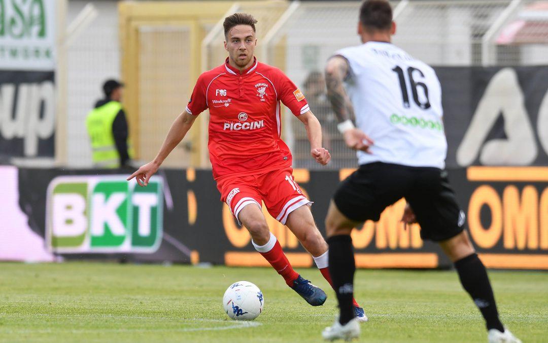 Spezia-Perugia termina 1-1