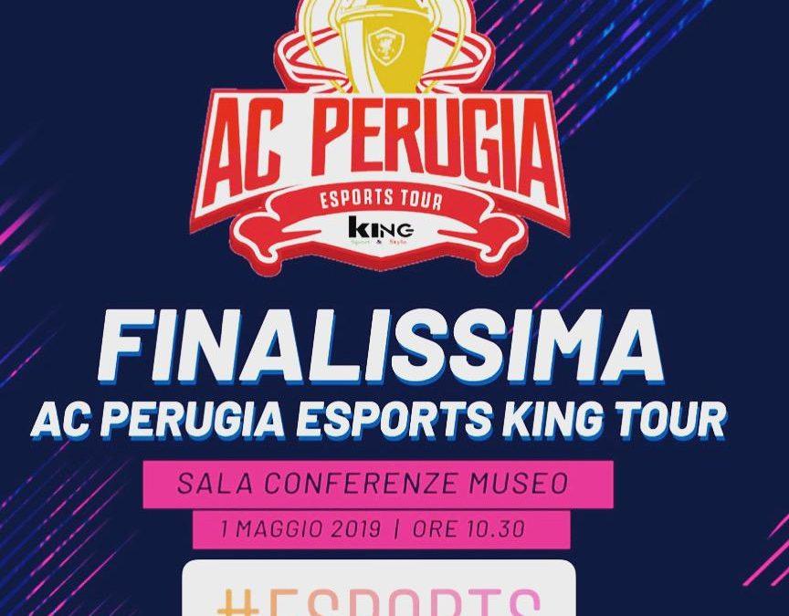 Domani la finalissima dell'A.C. PERUGIA ESPORTS KING TOUR