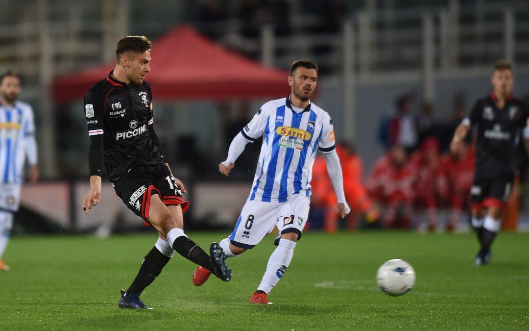 Pescara-Perugia termina 1-1