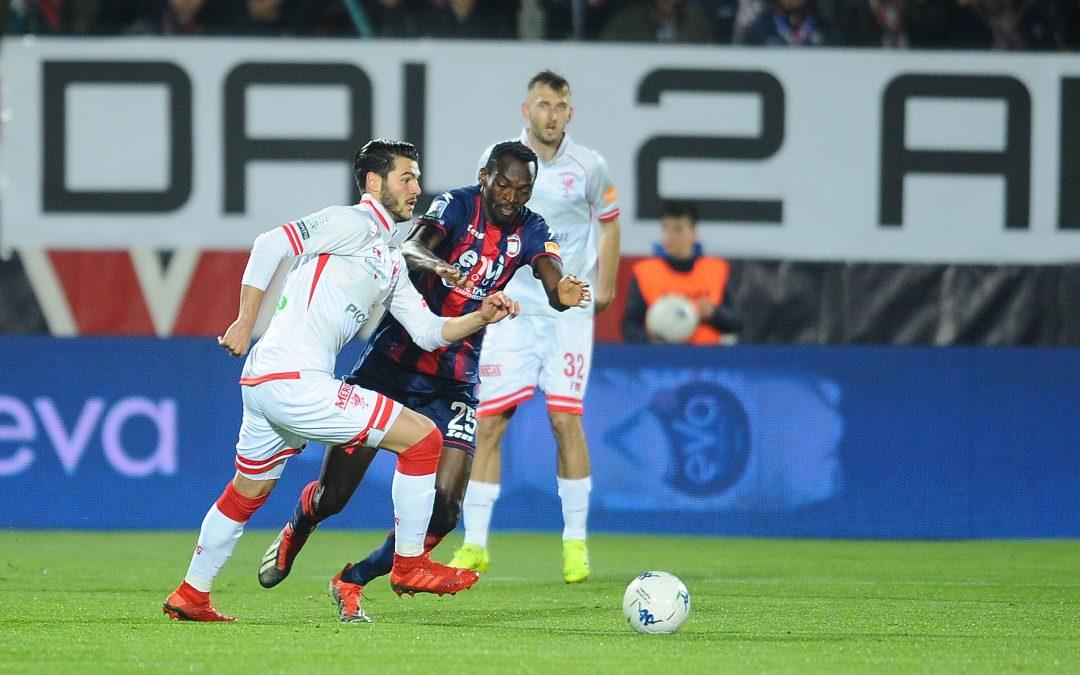 Crotone-Perugia termina 2-0