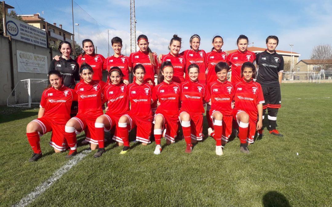 Under 15 Femminile: Jesina-Perugia 2-3