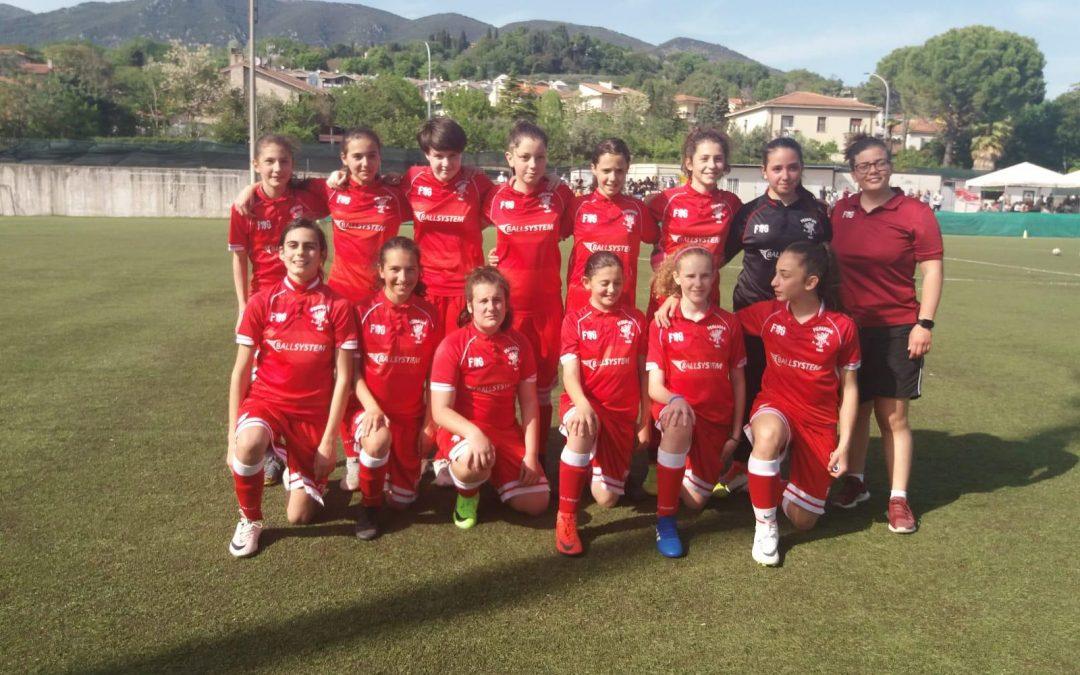 Under 12 Femminile: chiusa la prima fase della Danone Cup