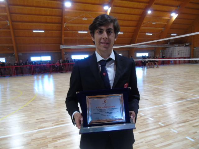 Filippo Ranocchia premiato dal Comune di Corciano