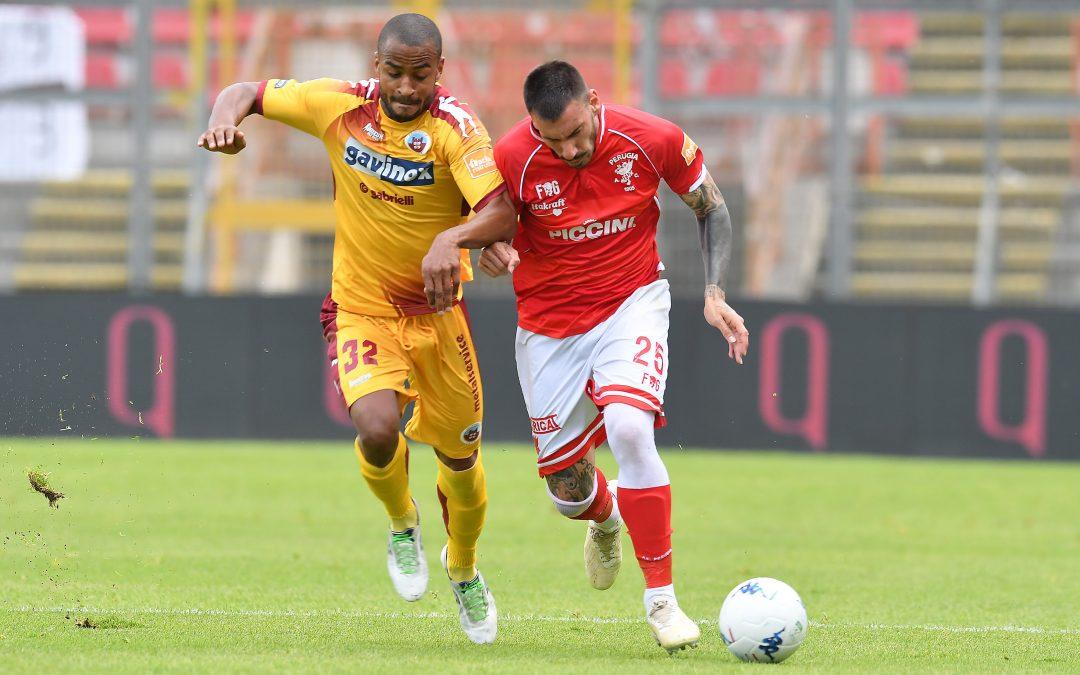 Perugia-Cittadella termina 0-0