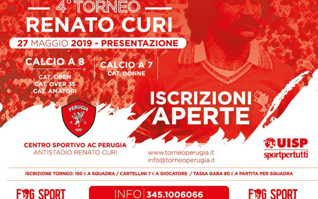 Aperte le iscrizioni al Torneo Renato Curi con due novità