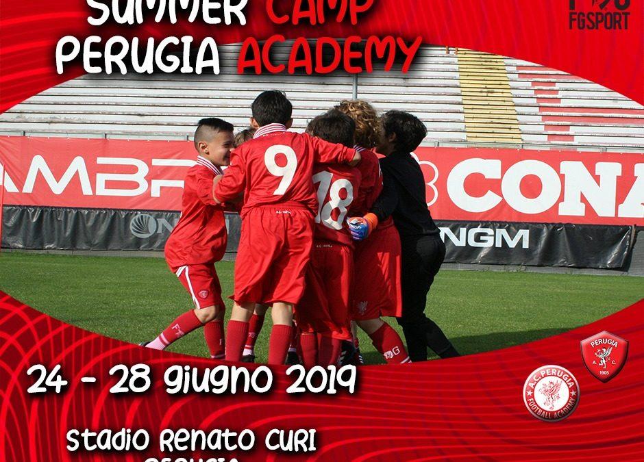 Aperte le iscrizioni al Perugia Summer Camp