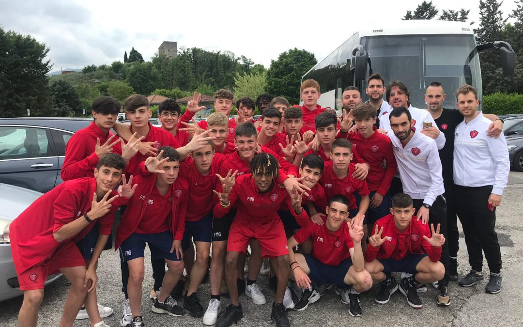 Under 15: Frosinone-Perugia 1-3. I biancorossi superano il primo turno play-off