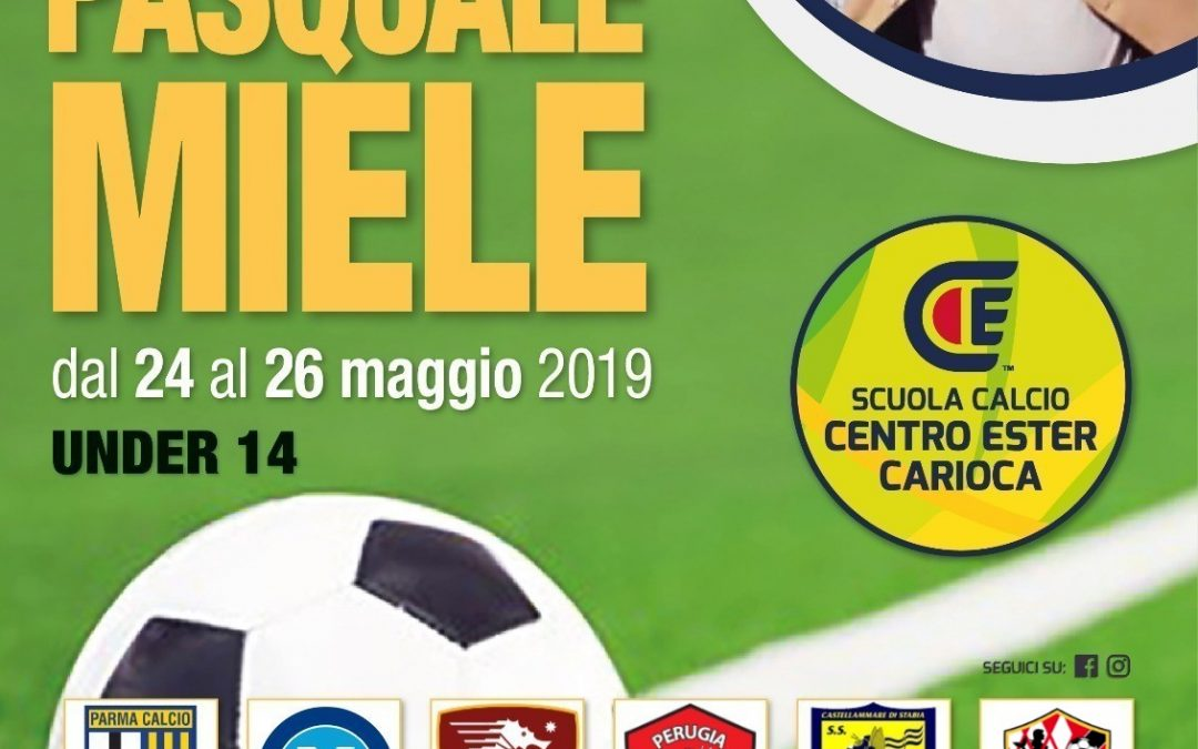 "Vivaio: Under 14 impegnata al trofeo ""Pasquale Miele"""