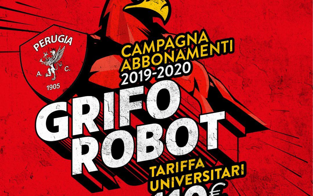 Grifo Robot, tariffa agevolata per gli studenti universitari