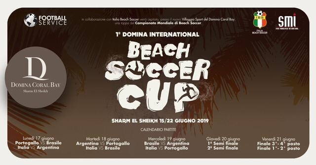 1ª DOMINA INTERNATIONAL BEACH SOCCER CUP