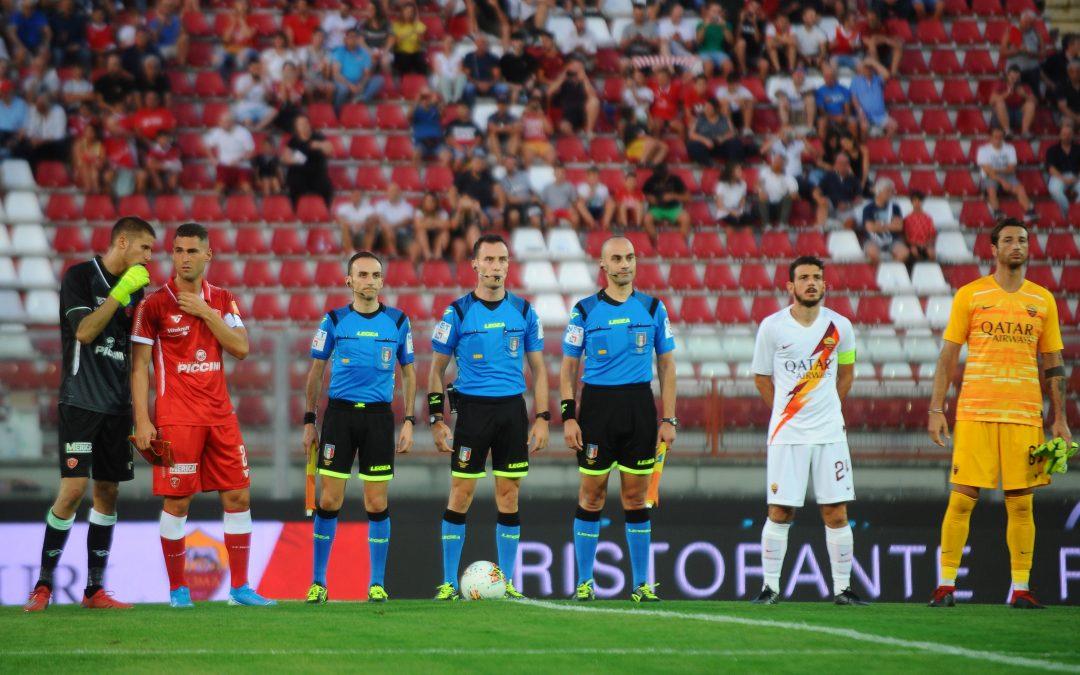 Perugia-Roma termina 1-3