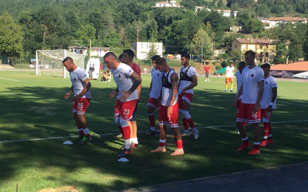 Ritiro, giorno 8: 10 gol alla rappresentativa Valdichiana