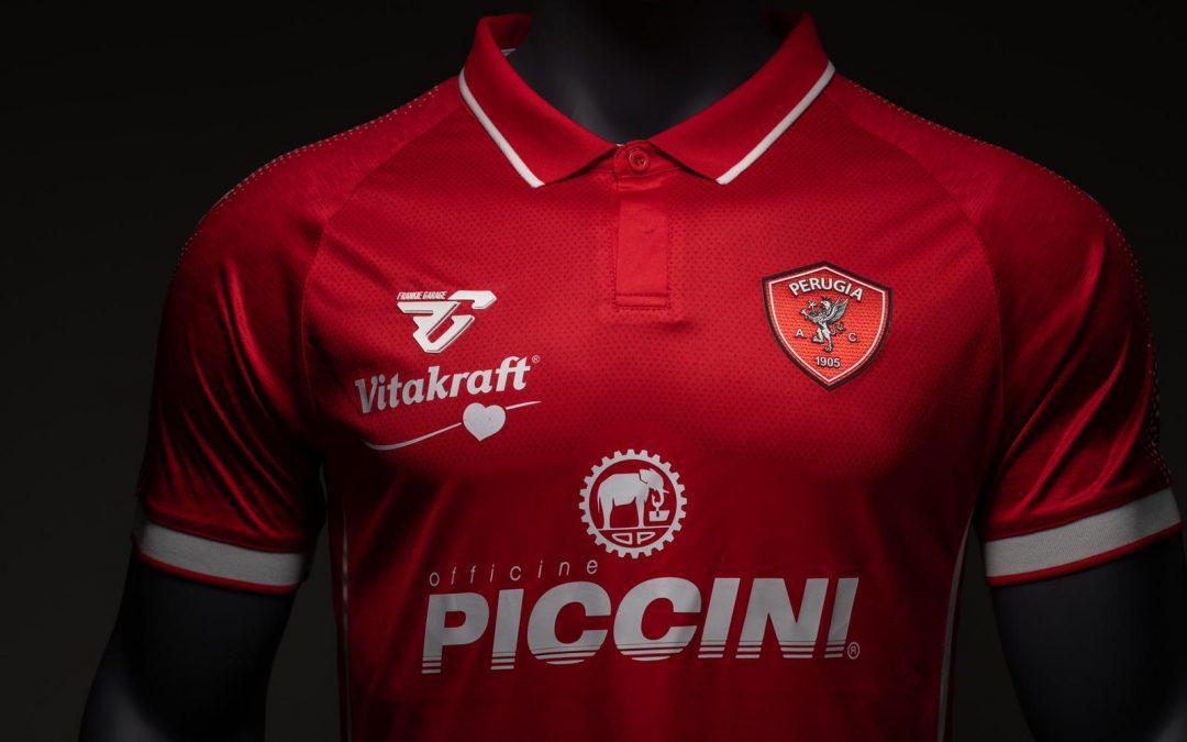 Maglia ufficiale A.C. Perugia 2019/2020: tutti i dettagli