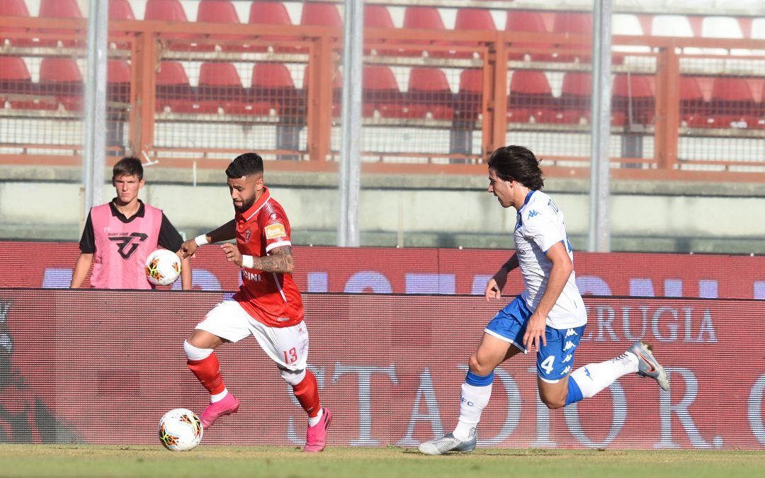 Perugia-Brescia termina 2-1