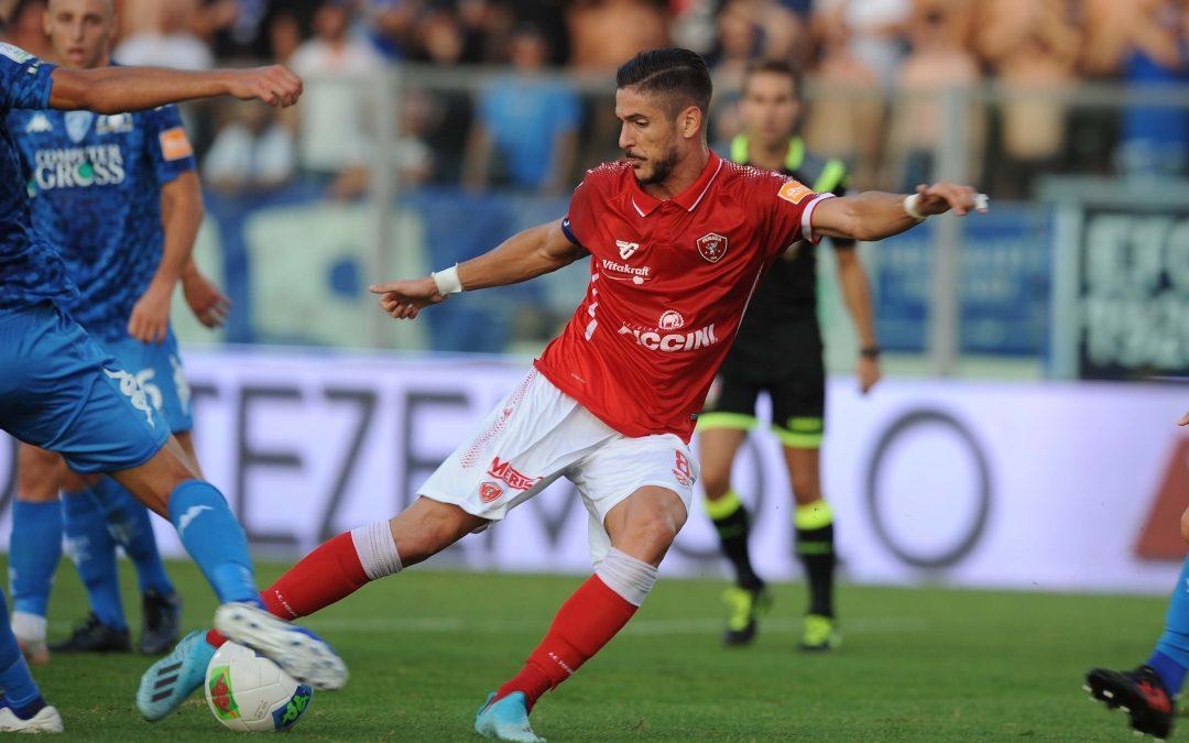 Empoli-Perugia termina 3-0
