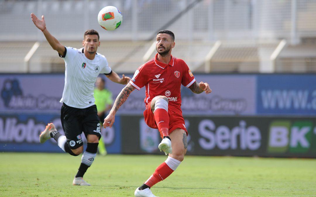 Spezia-Perugia termina 2-2