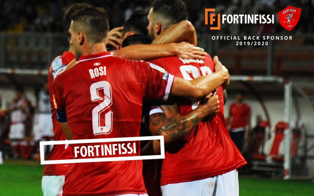 FORTINFISSI è official back sponsor A.C. Perugia Calcio