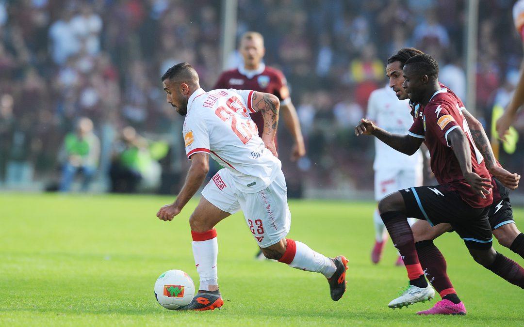 Salernitana-Perugia termina 1-1