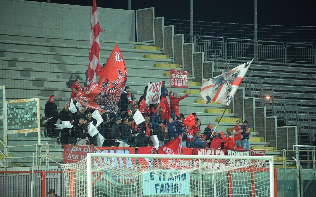 Crotone-Perugia, info biglietti