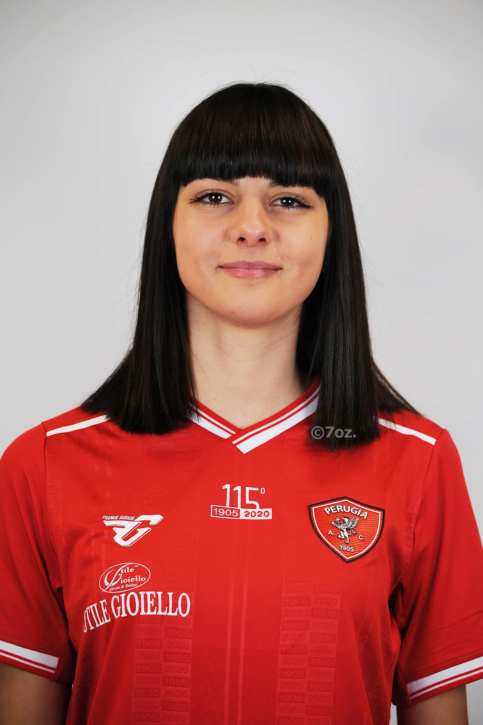 Michela AngoriCentrocampista- A.C. Perugia Calcio