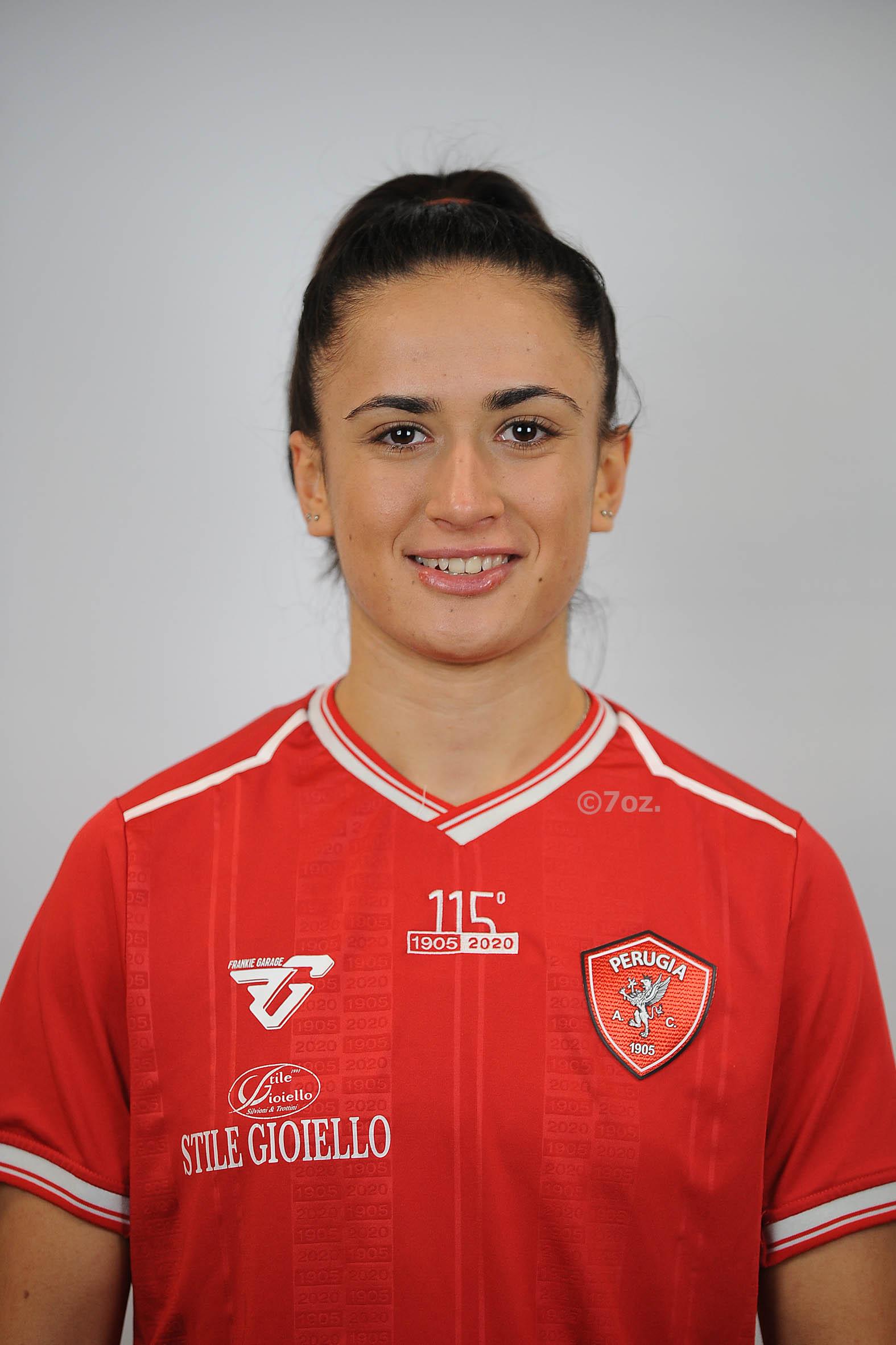Elisabetta TolaCentrocampista- A.C. Perugia Calcio
