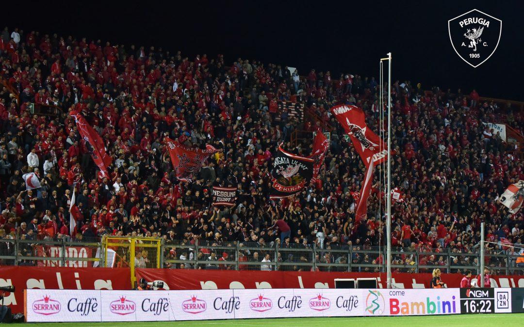 Perugia-Empoli, info biglietti
