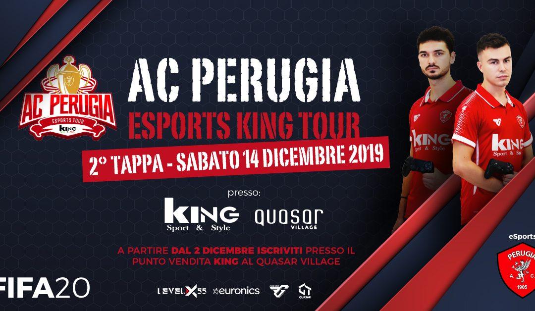 A.C. Perugia eSports King Tour: il 14 dicembre la seconda tappa