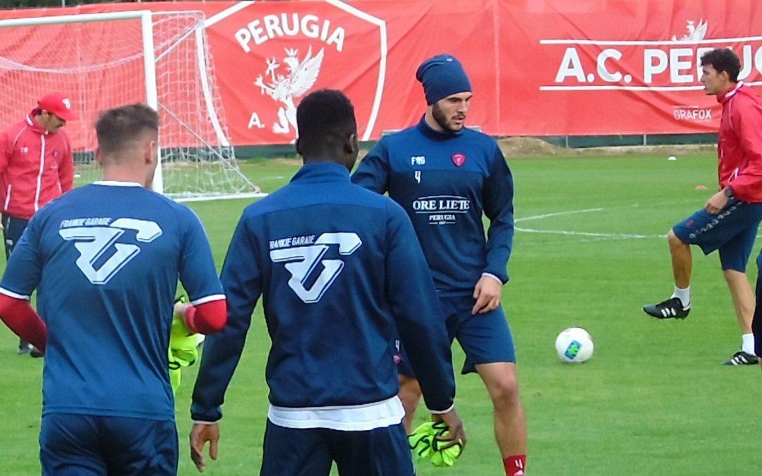 Mattina di allenamento in vista del Pescara
