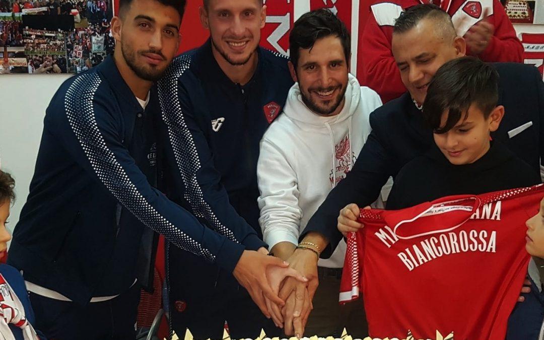 I biancorossi presenti al Perugia Club di Massa Martana