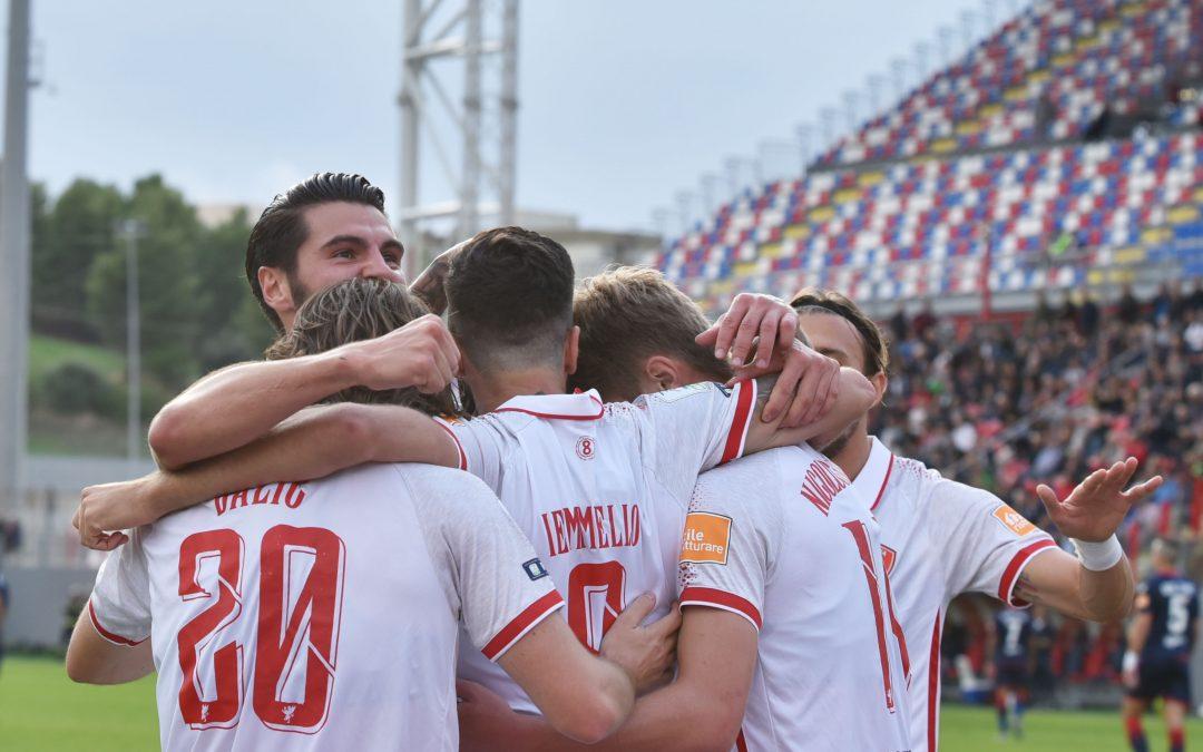 Crotone-Perugia termina 2-3