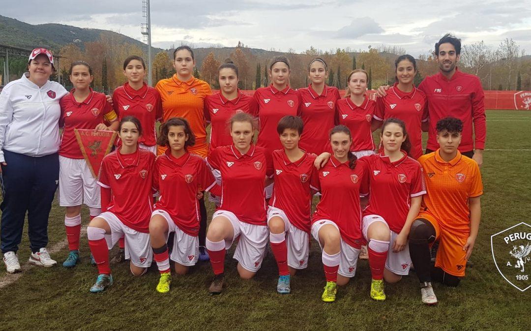 Under 17 femminile: Perugia-Frosinone 5-1